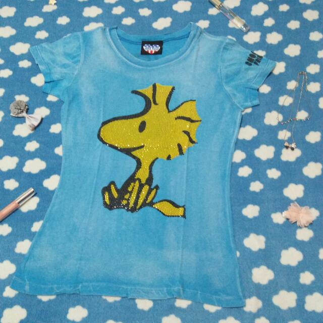 Blue Woodstock Shirt