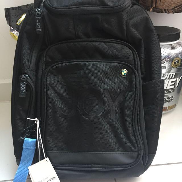 heiße Produkte bester Verkauf modisches und attraktives Paket BMW Genuine JOY Travel Rucksack Backpack Laptop Bag