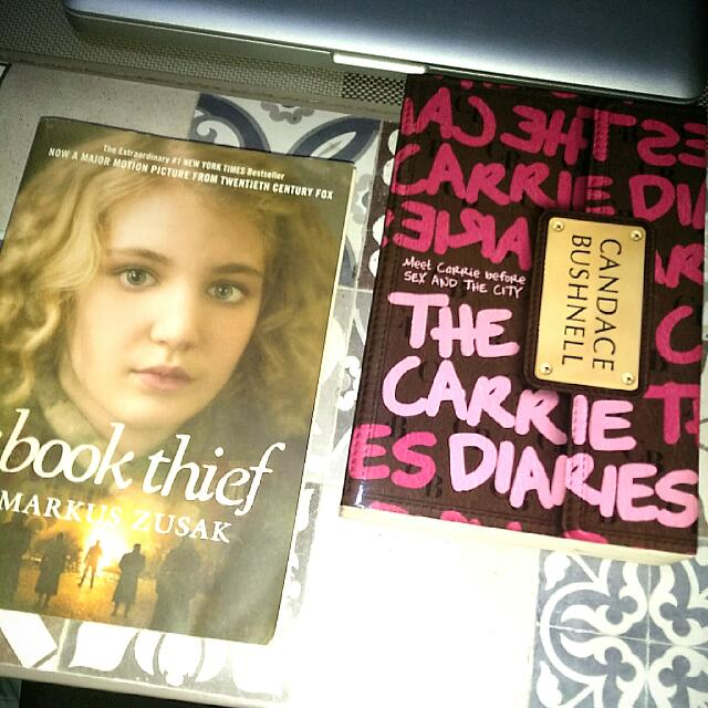 Book Bundle: The Book Thief / The Carrie Diaries
