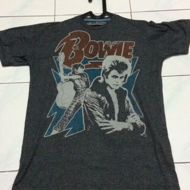 bowie t-shirt pull n bear ( limited edition )