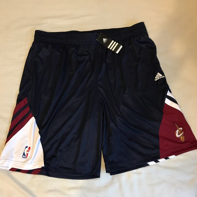 Brand New Adidas NBA Cleveland Cavs Basketball Shorts XL XXL