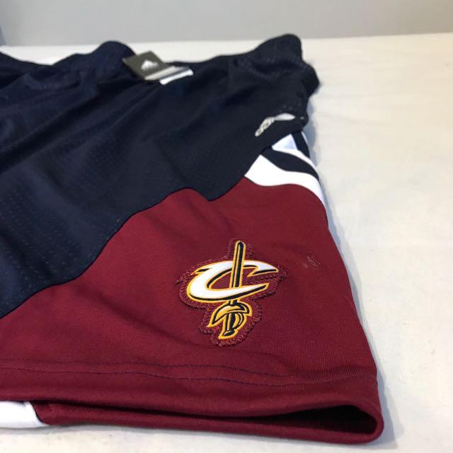Brand New Adidas NBA Cleveland Cavs Basketball Shorts XL XXL