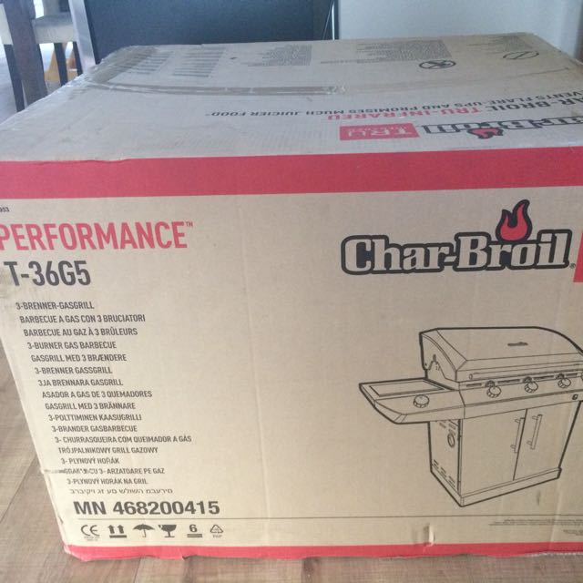 Brand New Char-Broil BBQ