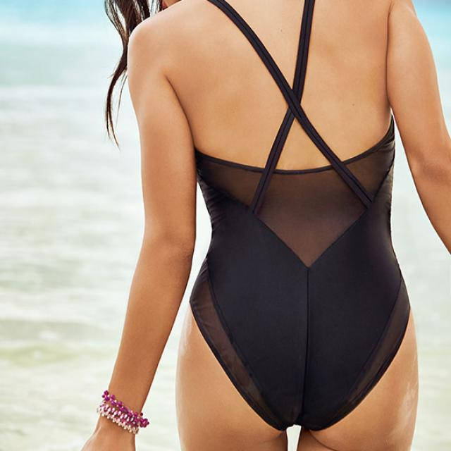 Brand New Fabletics Kai One Piece Swimsuit