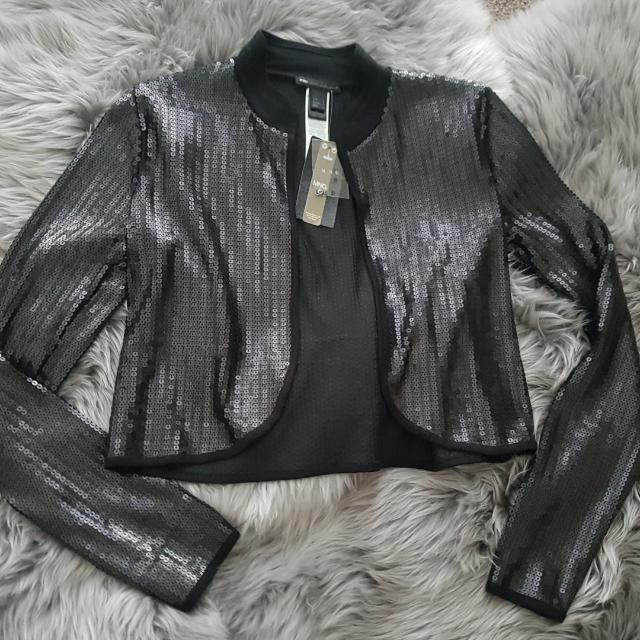 Brand New MNG Black Jacket Size - S/M