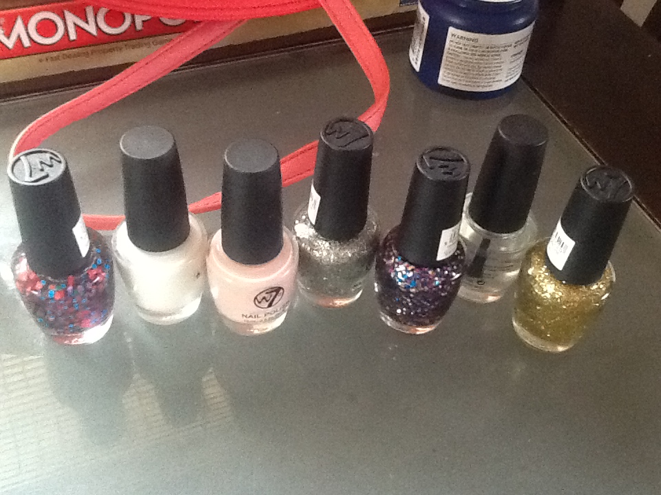 brand new unopened nail polishes