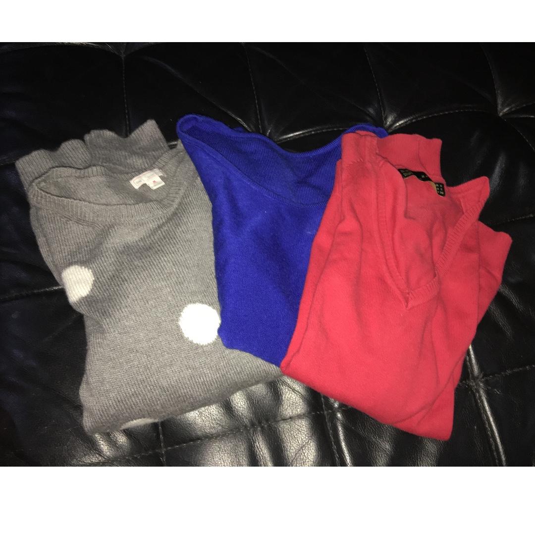 branded pullover