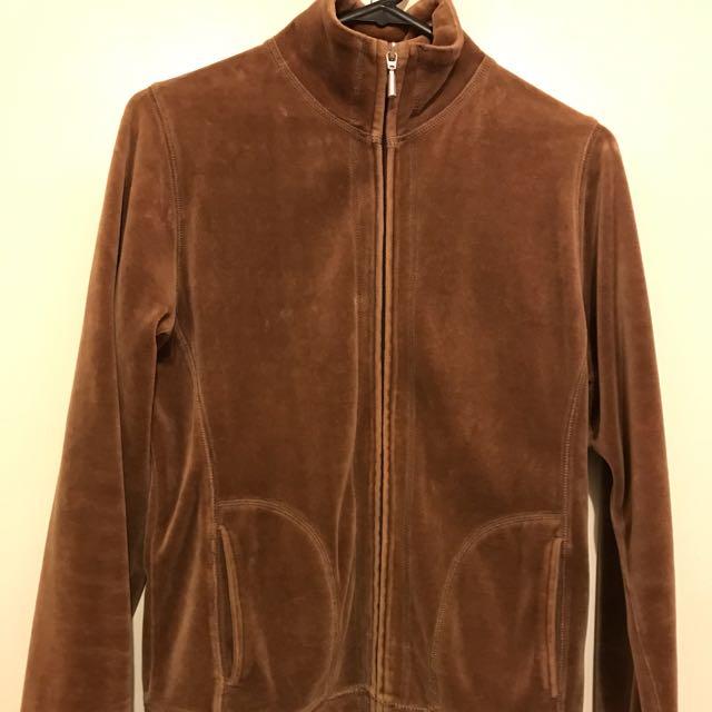 Brown Jacket Jumper 10 8