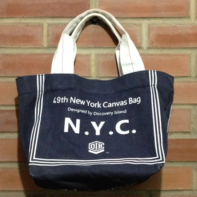 Canvas Bag (without zipper)