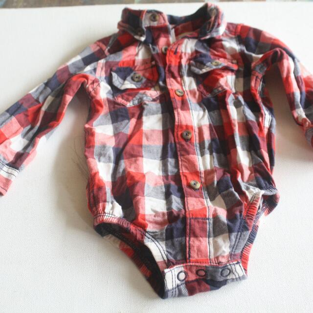 Carters Polo 9-12mos..