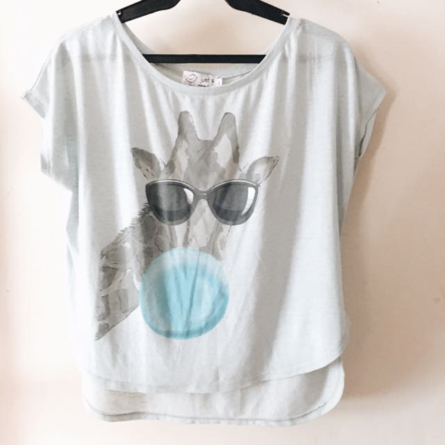 Cartoon Loose Top
