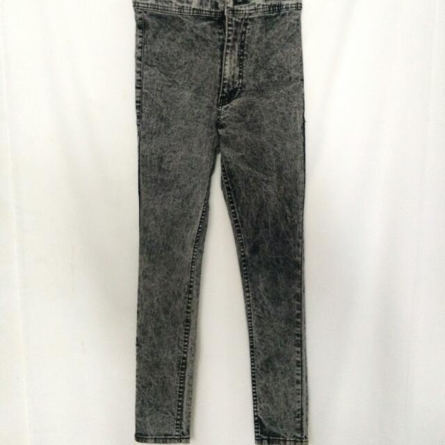Celana punny jeans highwaist