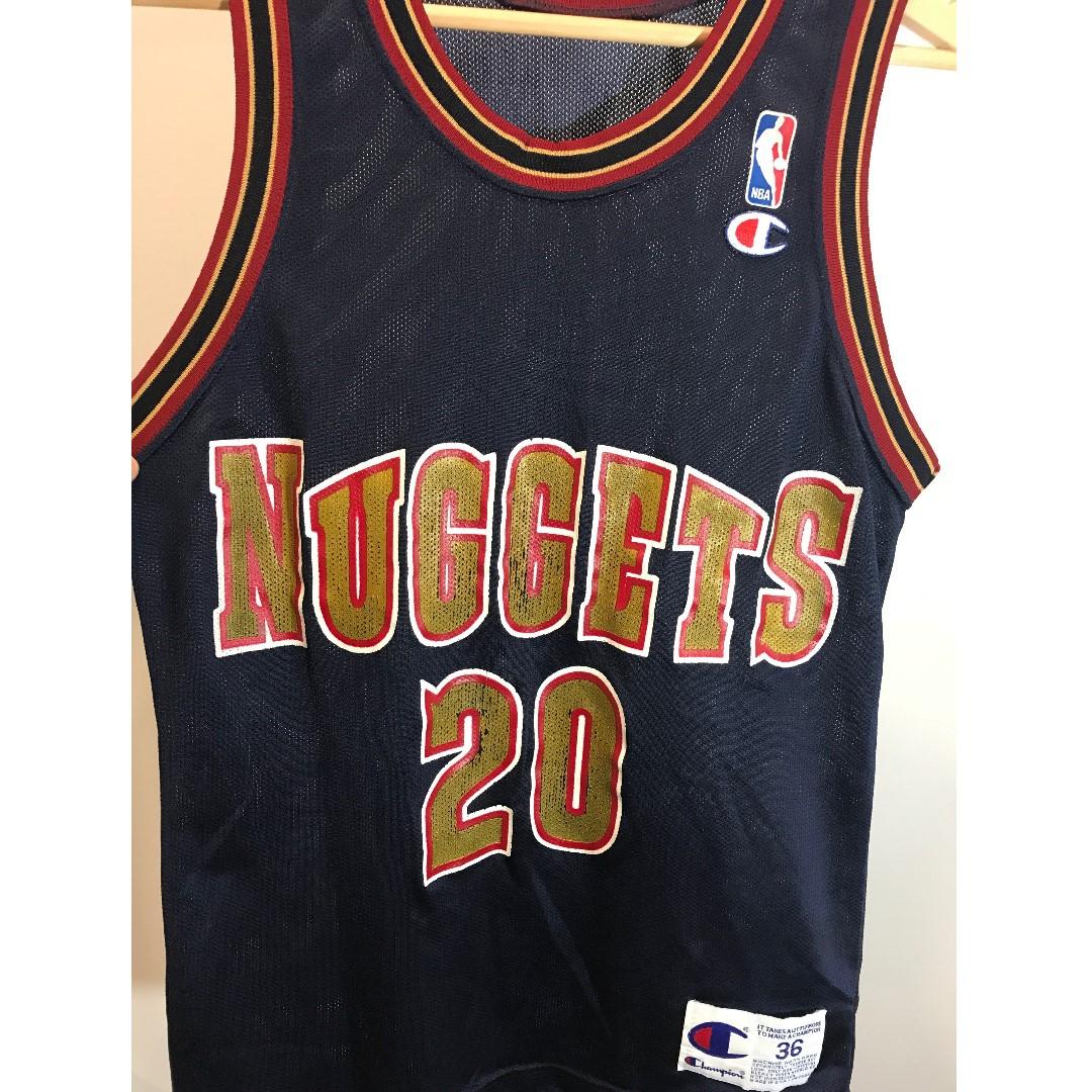 Champion Nuggets Ellis Jersey