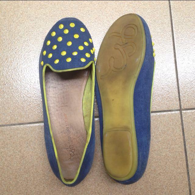 chocolate schubar flatshoes