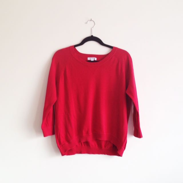 Cotton On Red casual jumper