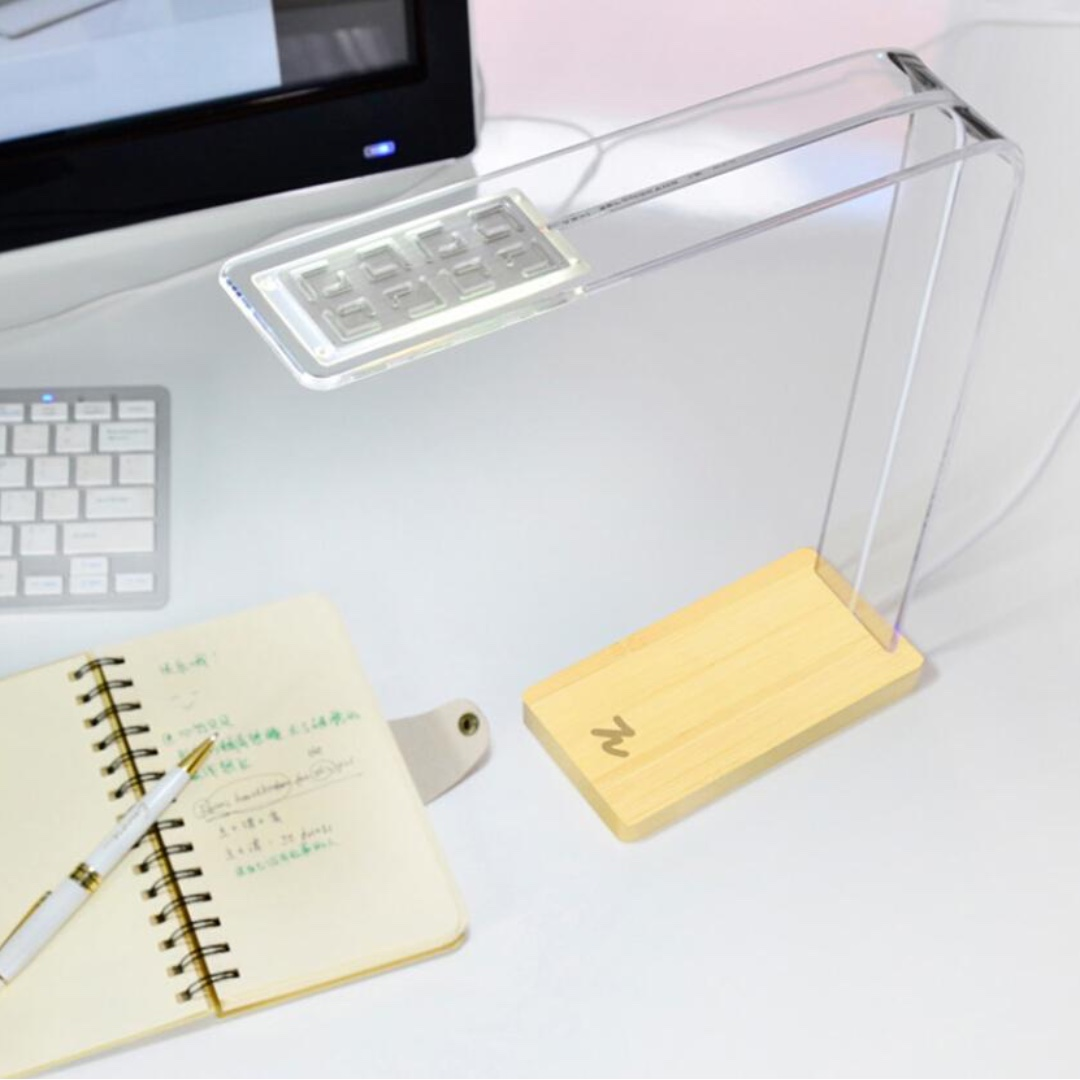 Design-Pie®E-light LED Table Touch-sensitive Lamp Concise Bamboo Touch Switch Lamp for Bedroom Study Office