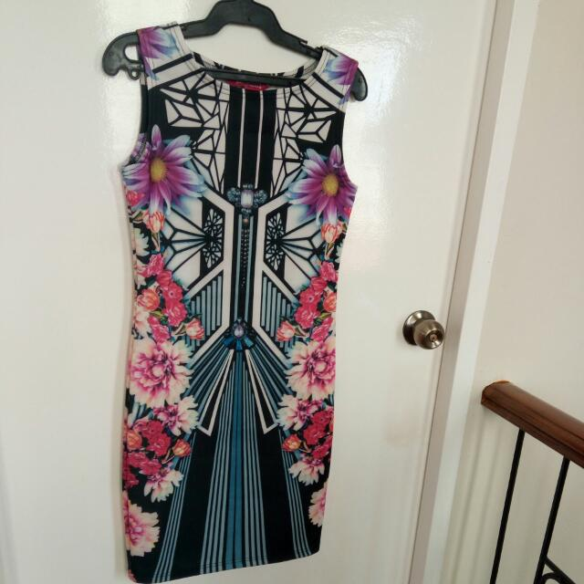 Dress Flower Design