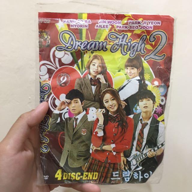 """DVD DRAMA KOREA """"Dream High 2 + City Hunter"""
