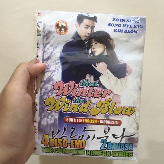 "DVD DRAMA KOREA ""That Winter The Wind Blow"""