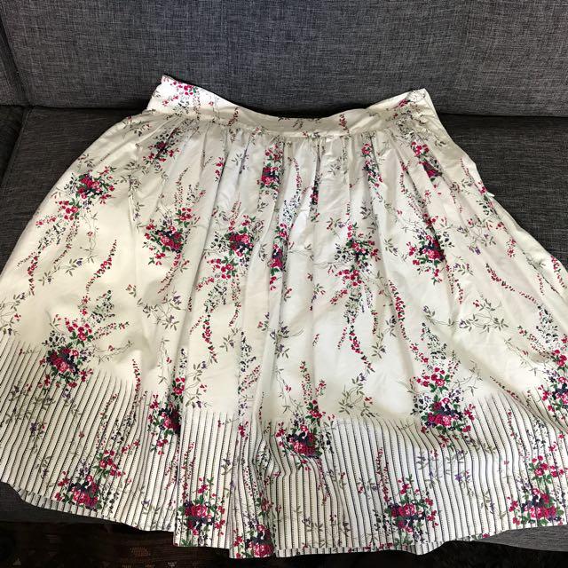 Esprit Size 12 Cotton Skirt