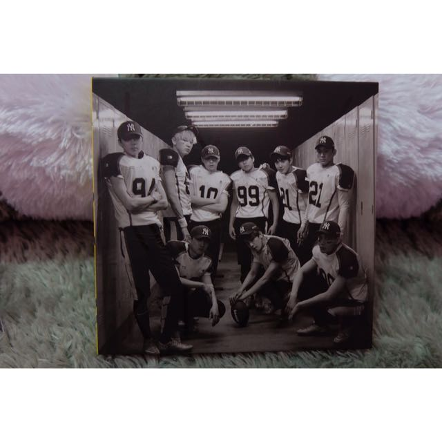 EXO LOVE ME RIGHT REPACKAGED KOR