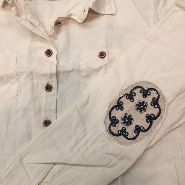 Maison Scotch off-white Shirt