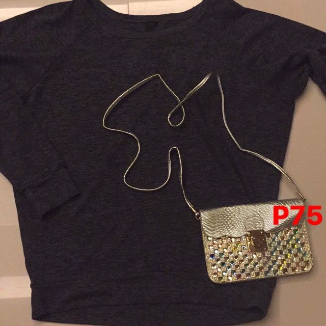 Factorie Sweater Large And Sling Bag