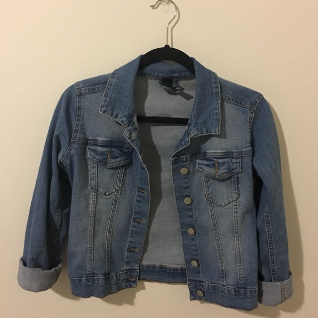Factories Denim Jacket Size Small