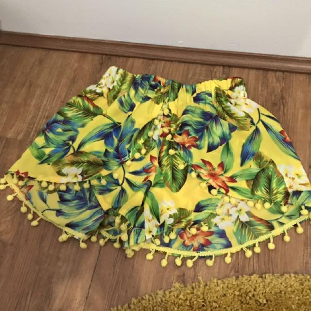 Floral Hawaiian Shorts