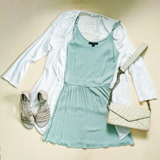 Forever 21 Mint Green Dress