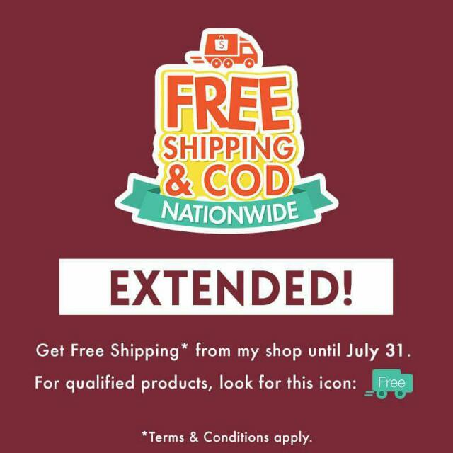 Free Shipping & COD Shopee