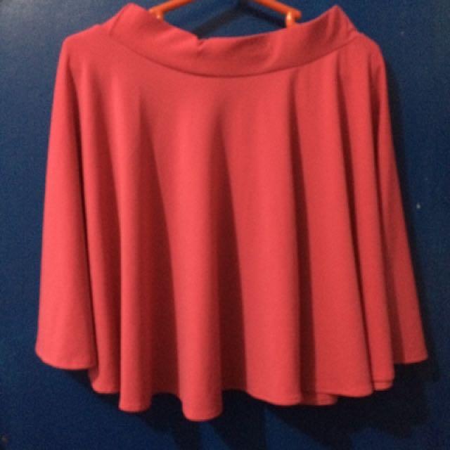 Fuchsia Pink Skater Skirt