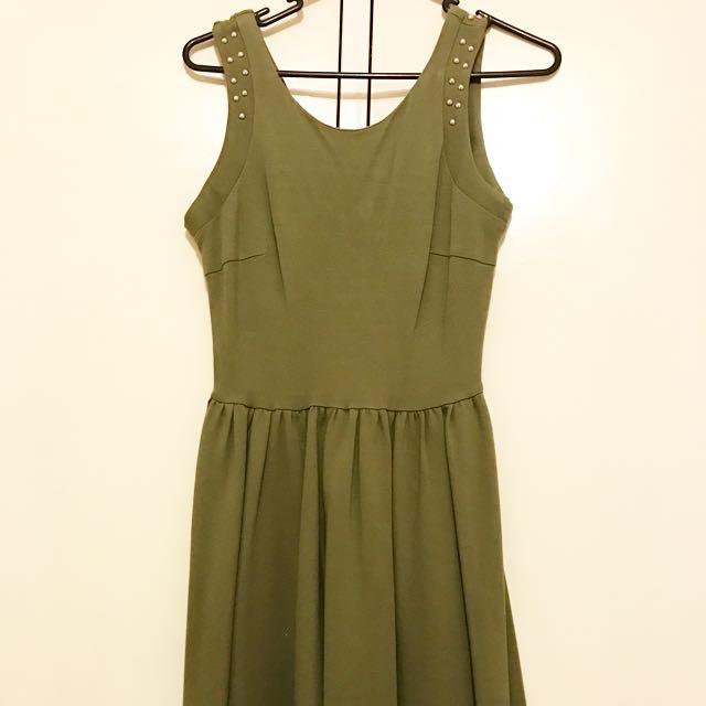 Glassons Green Dress Size 8