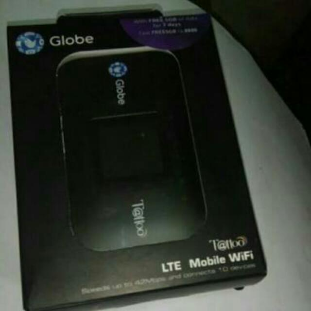 Globe LTE Pocket Wifi.