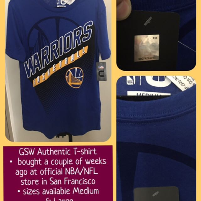 Golden State Warriors Authentic shirts