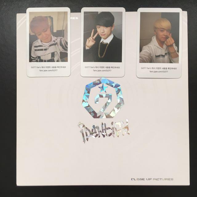 GOT7 Identify Album - White Vers.