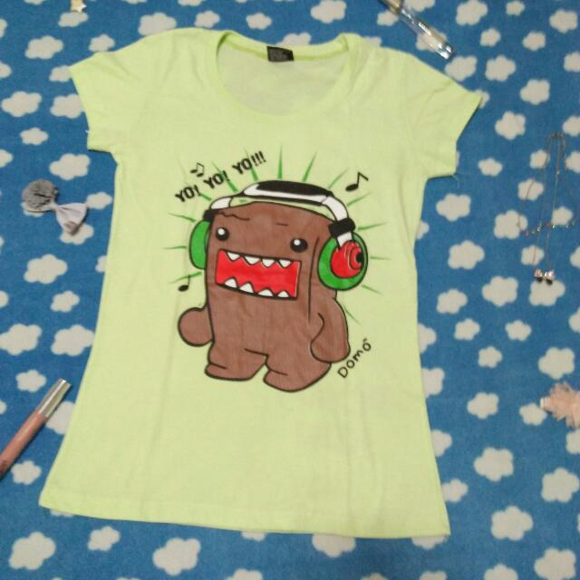 Green Domo-kun Shirt