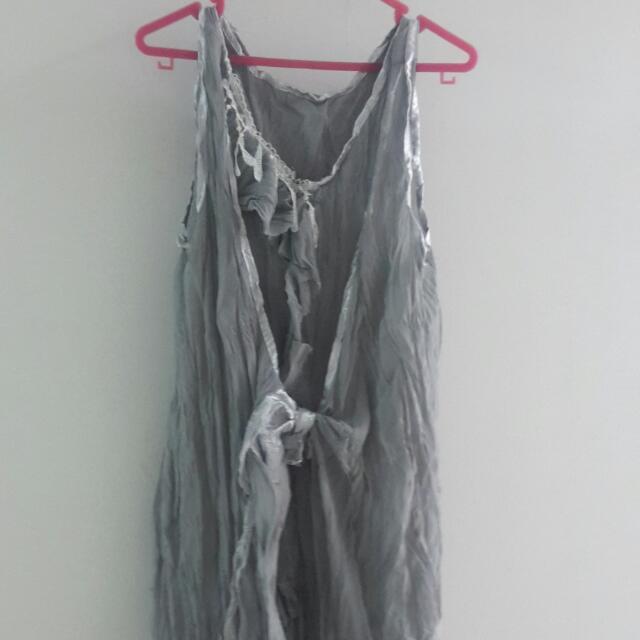 Grey Harajuku Dress