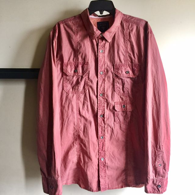GUESS JEANS Utility Shirt