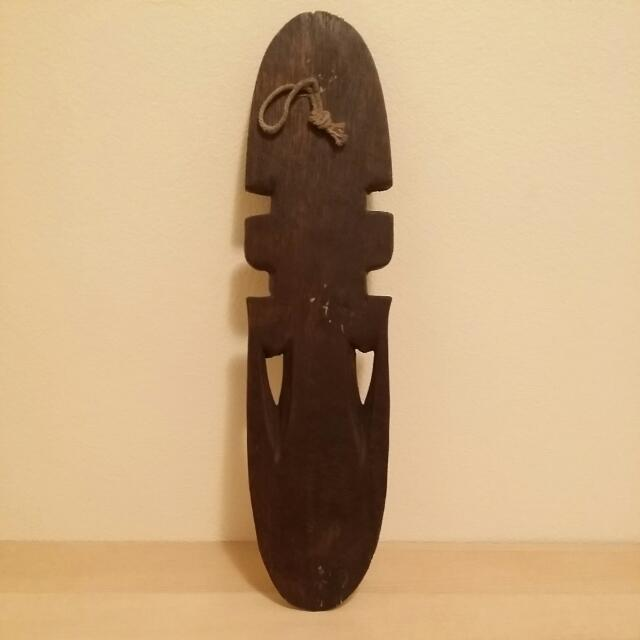 Handcrafted Wooden Carving