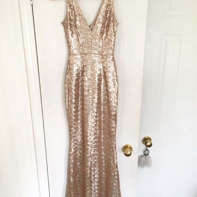 Harper Mermaid Gown by Dress The Population