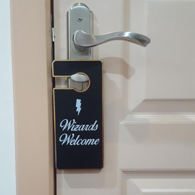 Harry Potter Door Label