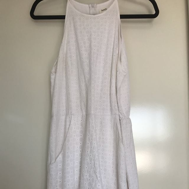 High Neck Playsuit (Size 10)