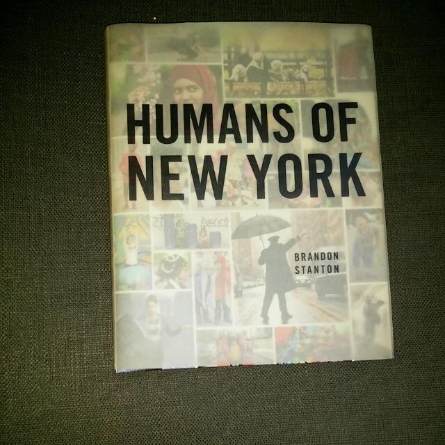 Humans of New York (HONY)
