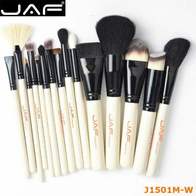 JAF Brush Make Up 15 Set - White