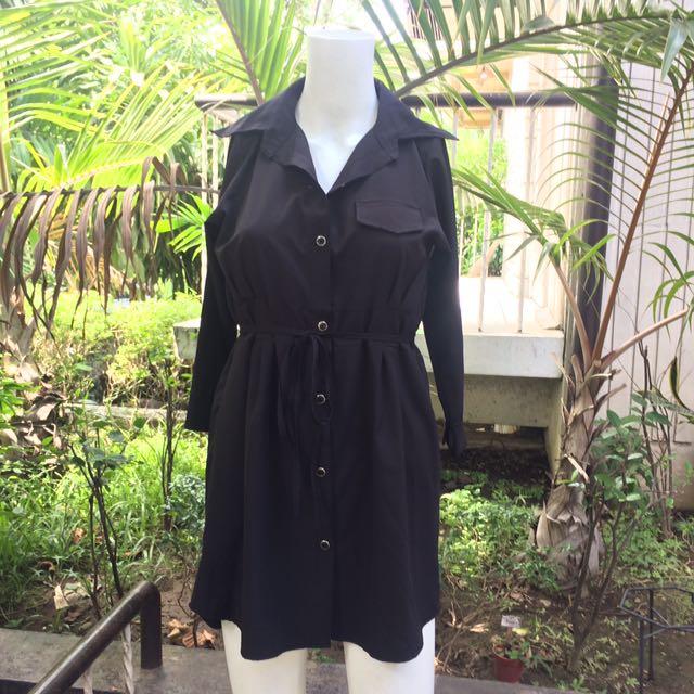 Karenina Hamorra Black Dress