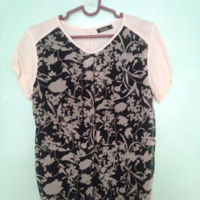 Krizia Floral blouse