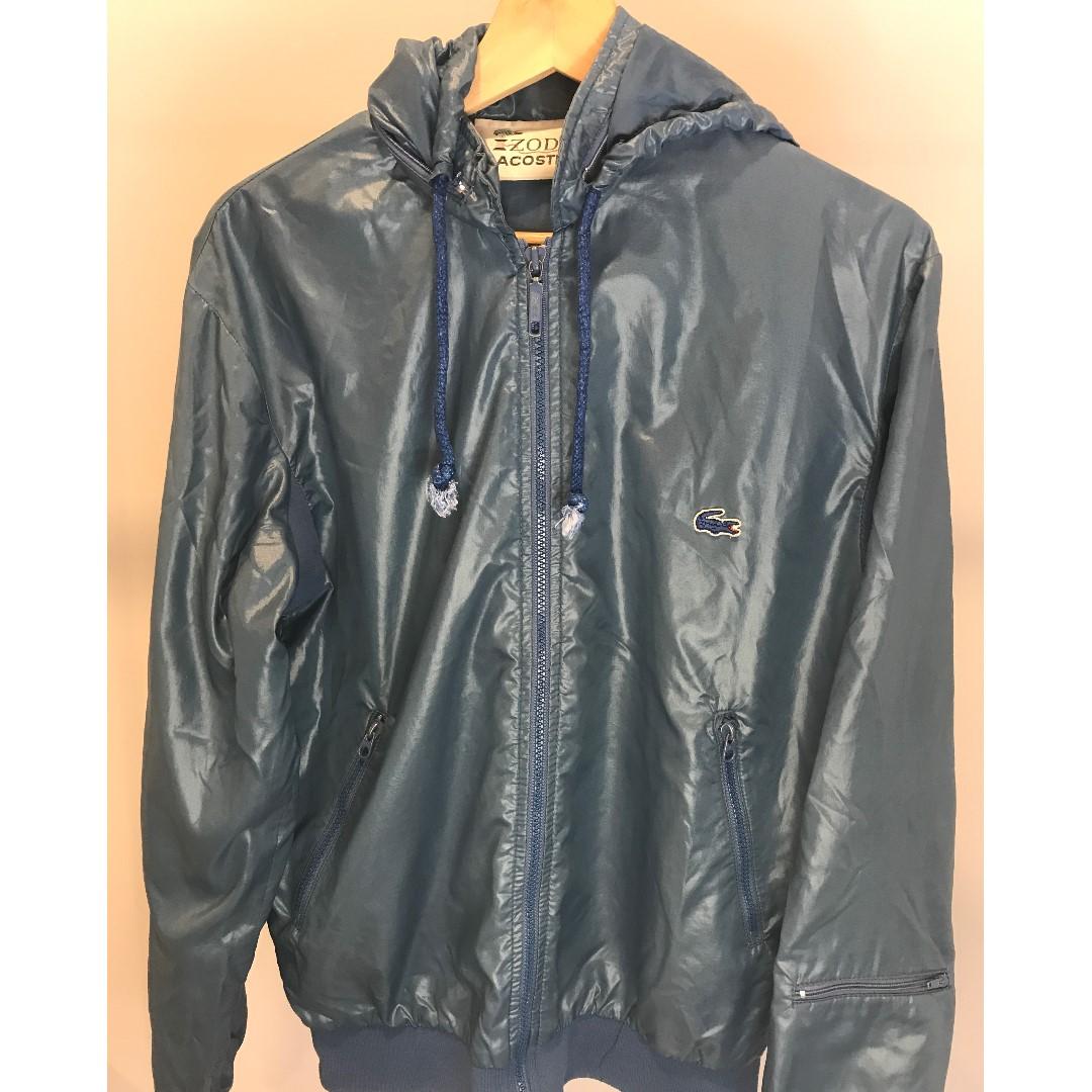 Lacoste Dark teal Zip up Jacket