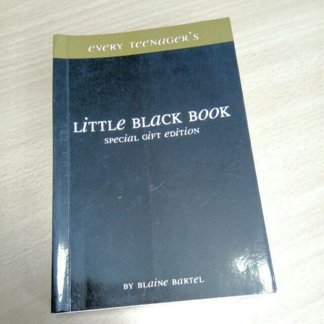 Little Black Book (Special Gift Edition) by Blaine Bartel