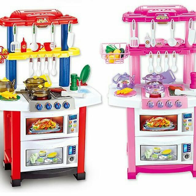 Little Chef Kitchen Playset, Toys & Games, Toys on Carousell